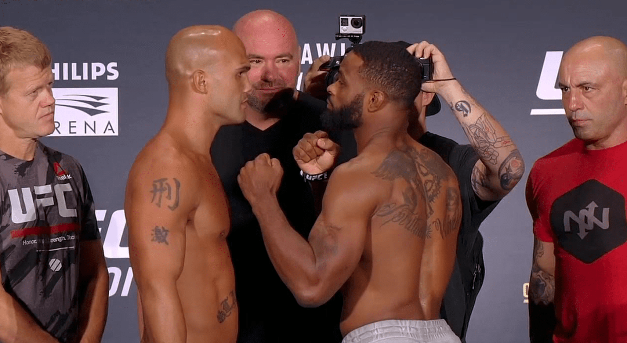 Tyron Woodley Opens Up About Pulling Out Of Fight With Robbie Lawler