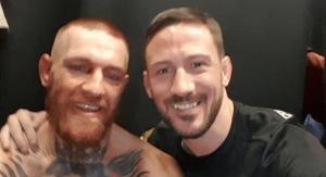 UFC John Kavanagh and Conor McGregor