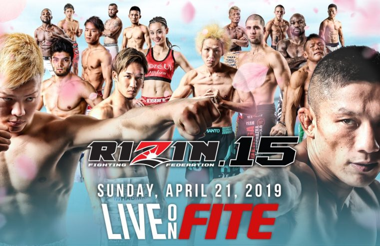 Official RIZIN 15 Results