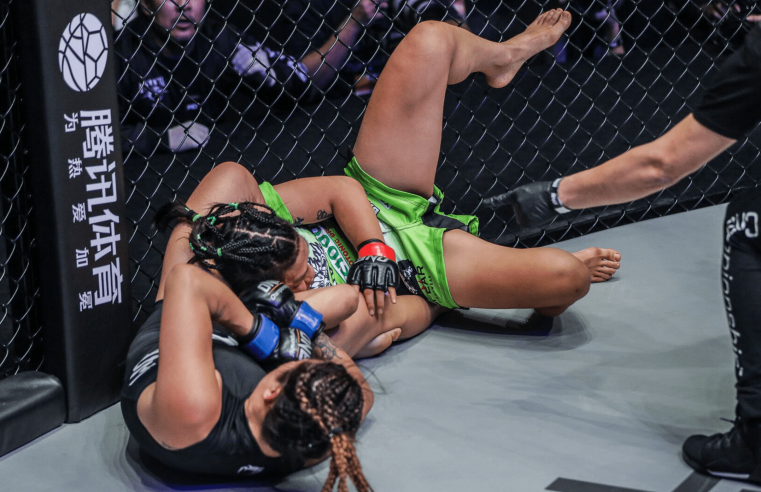 Xiong Jing Nan On How She Survived Angela Lee's Submission Attempts