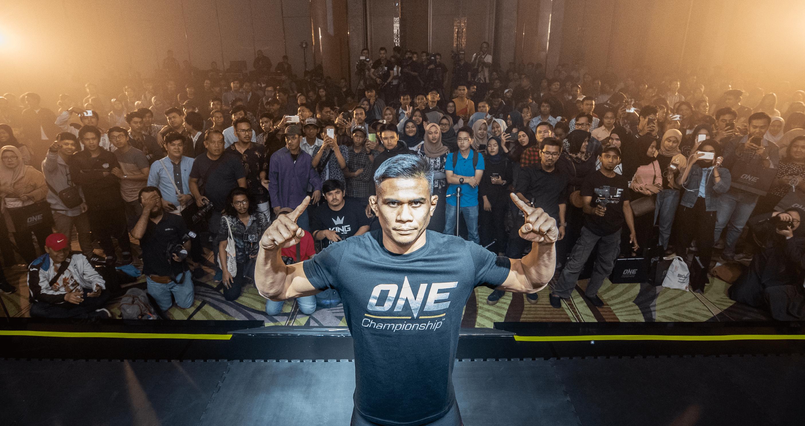 ONE Championship: Eko Roni Saputra Open Workout In Jakarta