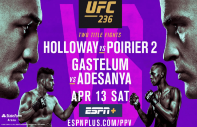 Official UFC 236 Results