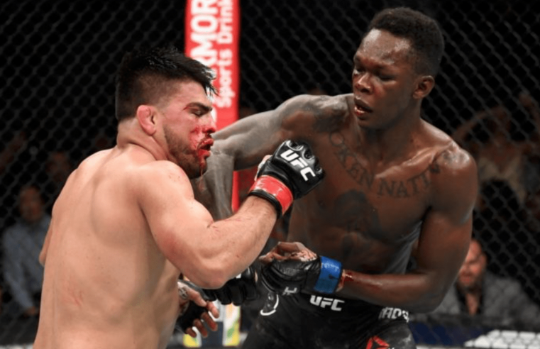 Israel Adesanya And Kelvin Gastelum Show Huge Respect For Each Other