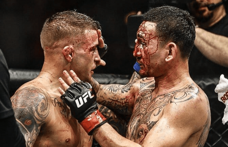 Dustin Poirier Sends Classy Message To Max Holloway