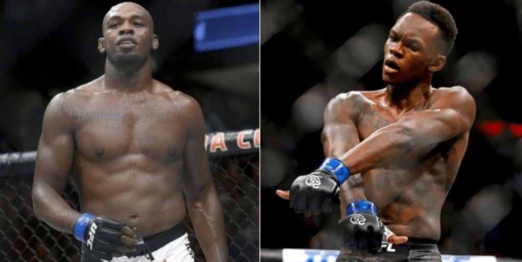 UFC Jon Jones and Israel Adesanya