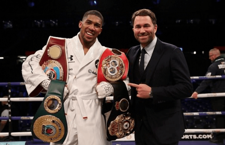 Eddie Hearn Is Disgusted With Jarrell Miller