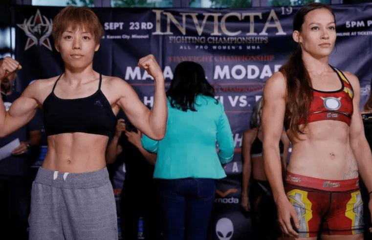 RIZIN 16: Ayaka Hamasaki And Jinh Yu Frey Gearing Up For A Rematch