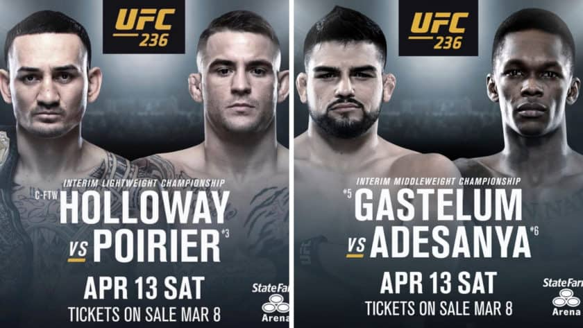 UFC 236 Weigh-In Results And Videos