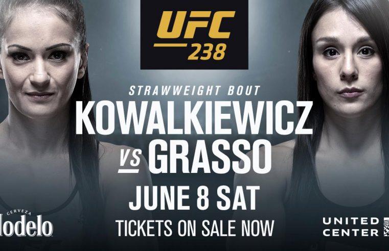 UFC 238: Karolina Kowalkiewicz vs Alexa Grasso Added To The Card