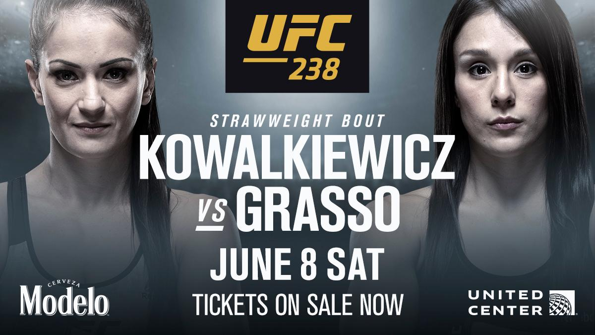 UFC 238: Karolina Kowalkiewicz vs Alexa Grasso Added To The Card