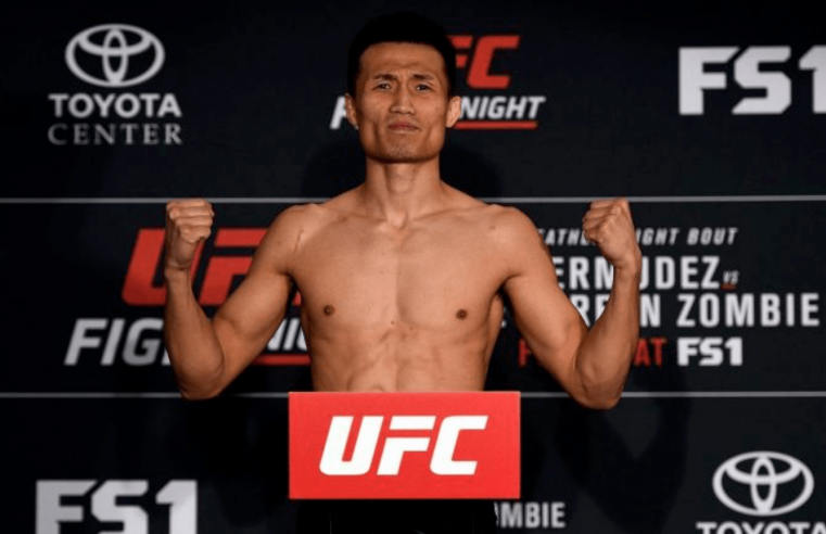 'Korean Zombie' Prepared To Move Up To Lightweight To Get A Fight