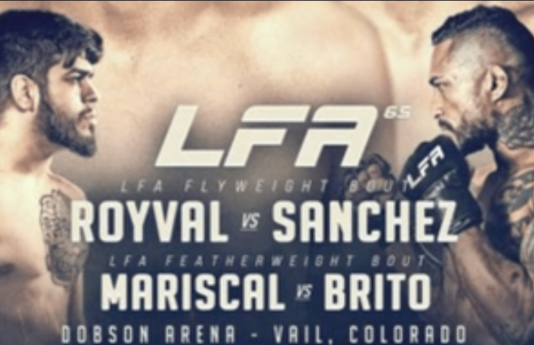 LFA 65: Royval vs Sanchez Results