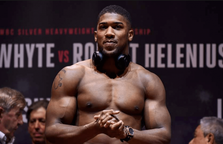 Anthony Joshua Calls Out Deontay Wilder
