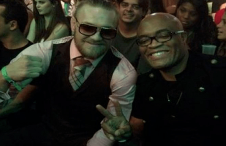 Anderson Silva Tells Dana White To Make The Conor McGregor Fight