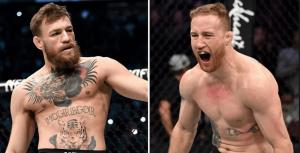UFC Conor McGregor Justin Gaethje