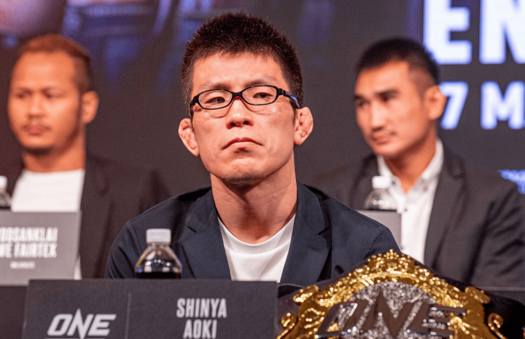 Shinya Aoki Lays Out His Plans, Open To Fighting 'Sexyama'