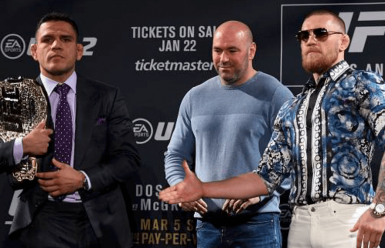 Dos Anjos: McGregor Gets Lost When A Fight Doesn't Go To Plan
