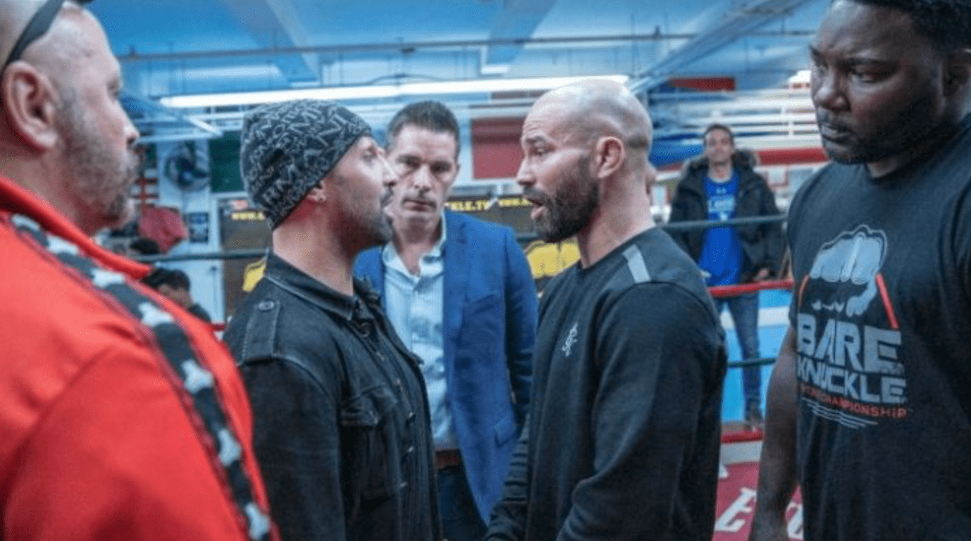 Paulie Malignaggi Spits At & Threatens To Urinate In Artem Lobov's Mouth