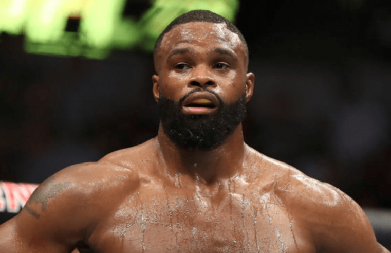 Woodley's Comments On Adesanya Lead To Shots Being Fired On Twitter