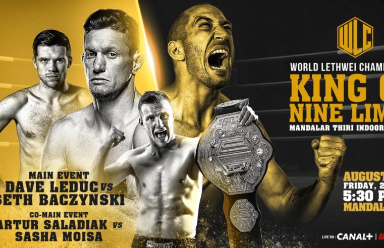 Full Card Announced For WLC: King Of Nine Limbs