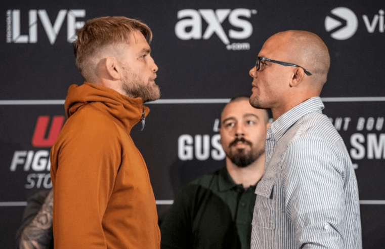 UFC Stockholm Weigh-In Results