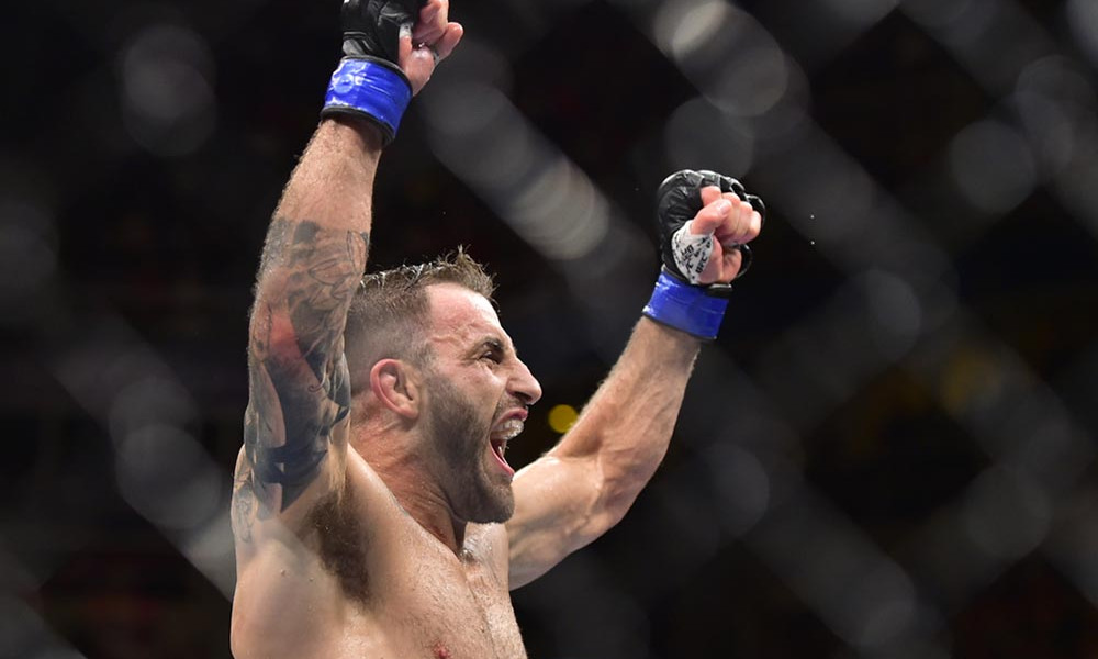 Alex Volkanovski Wants To Prove Himself At Lightweight Against Khabib