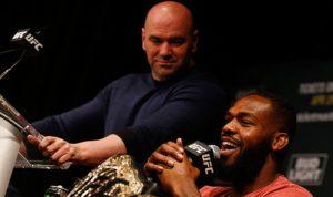 UFC Dana White and Jon Jones