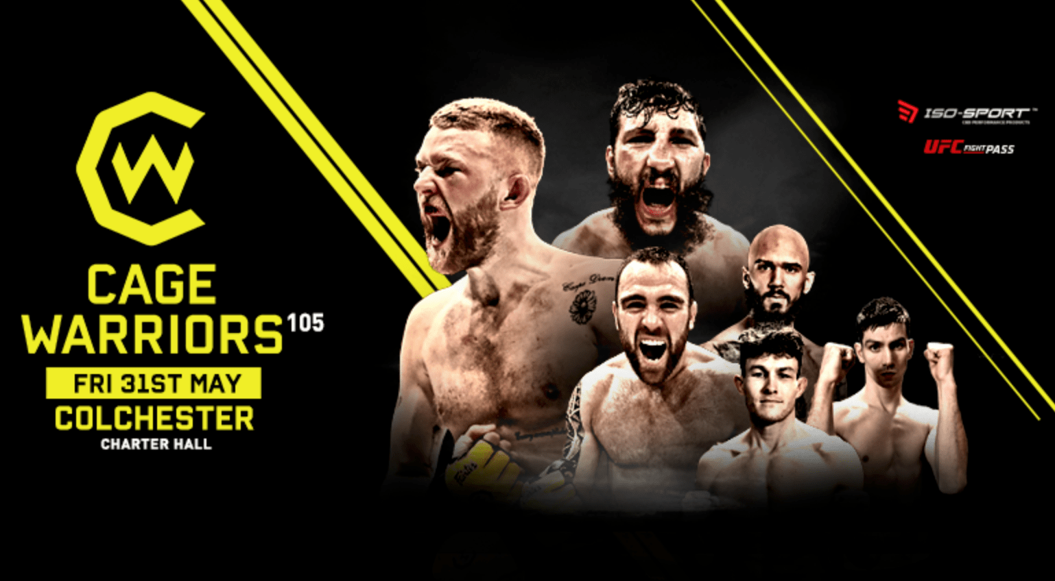 Cage Warriors 105 Results