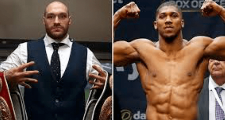 Boxing Tyson Fury and Anthony Joshua