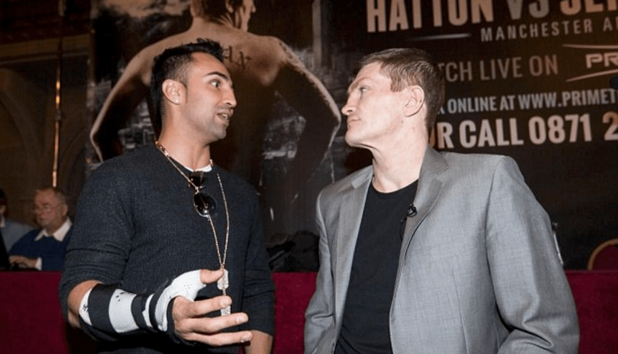 Ricky Hatton Surprised To See Malignaggi Compete In Bare Knuckle Fight