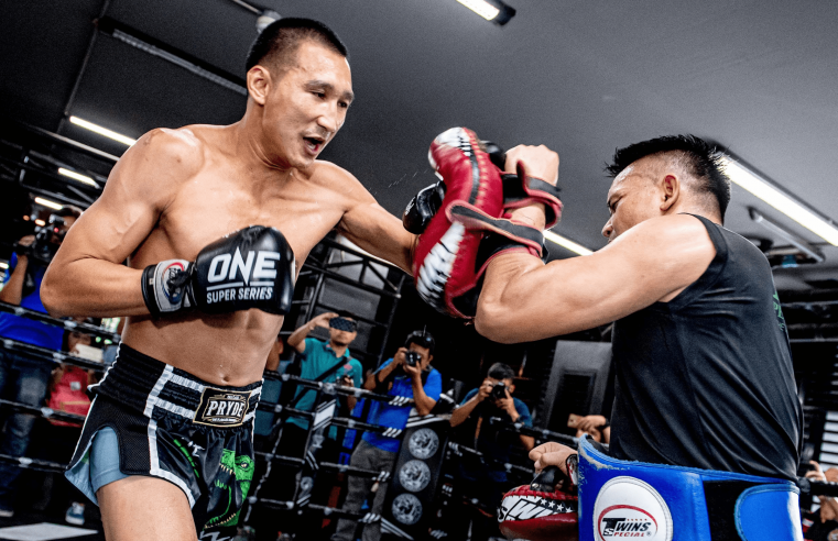 ONE Championship Hosts Media Workout For Petchmorakot Petchyindee
