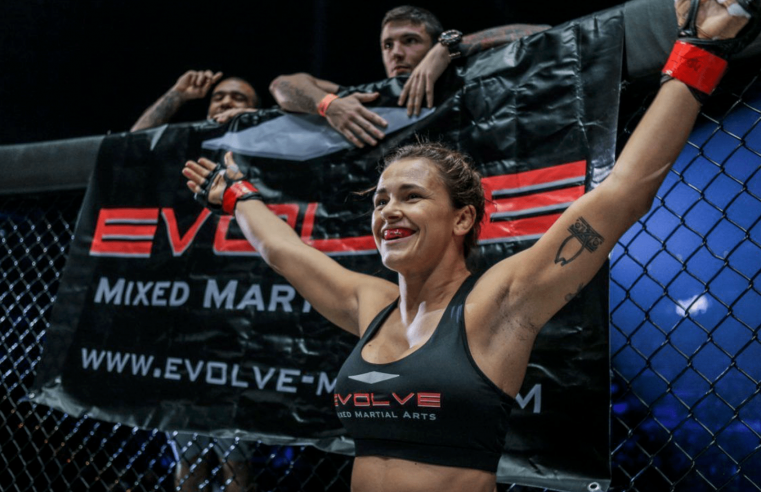 Ahead Of Angela Lee Bout, Michelle Nicolini Has Been Training Non-Stop