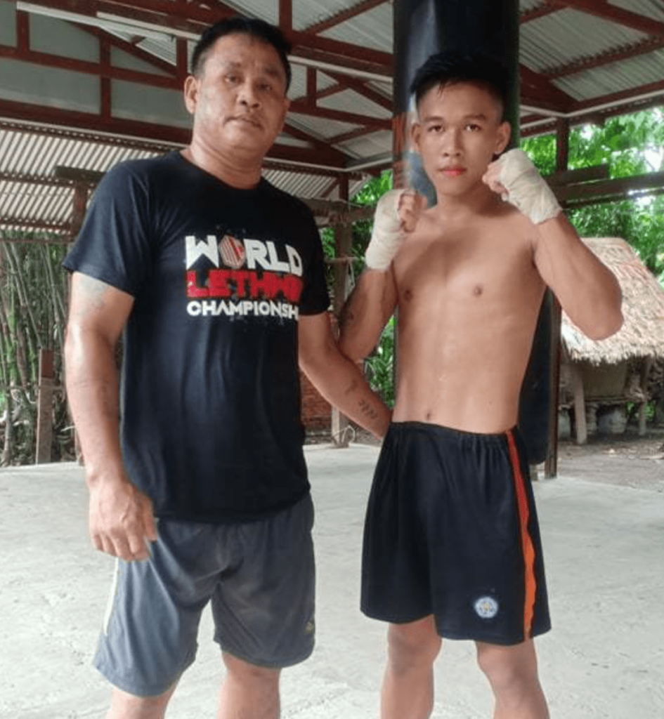 Htet Naing Aung and his dad Zaw Win Tun