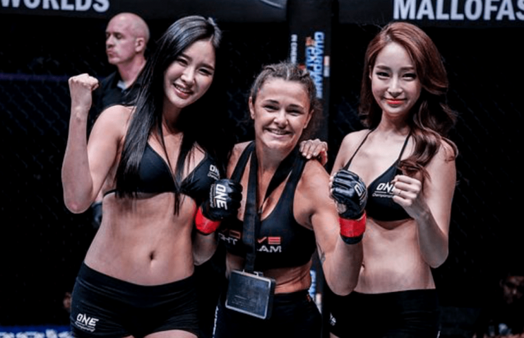 Michelle Nicolini Believes In Her Heart That She'll Beat Angela Lee
