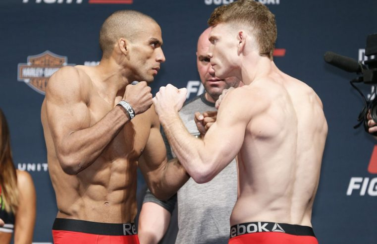 Paul Felder Vs Edson Barboza To Co-Main Event UFC 242