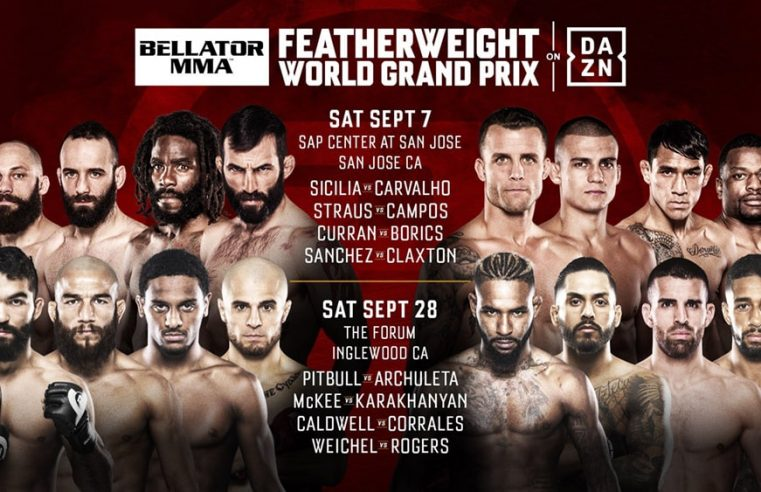 Bellator Announce Full Details Of Featherweight Grand Prix