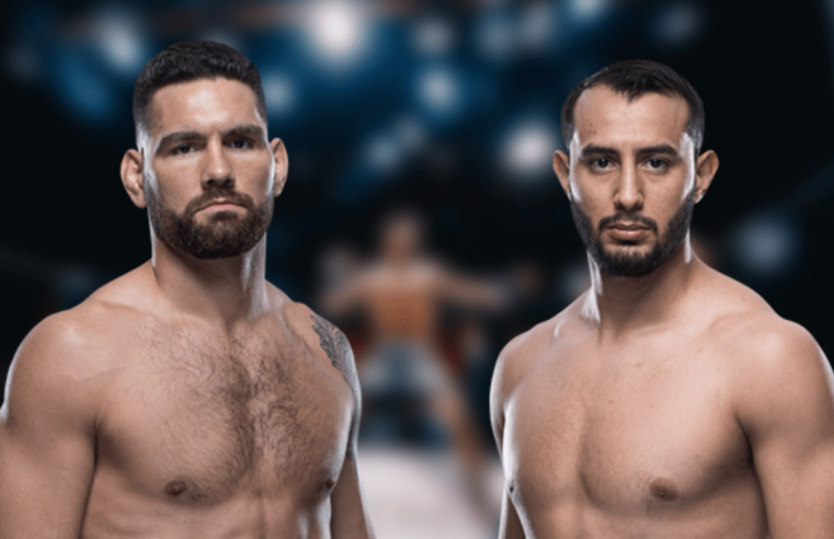 UFC Boston: Reyes vs Weidman Weigh-In Results