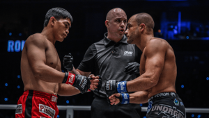 ONE Championship Eduard Folayang vs Eddie Alvarez at ONE: Dawn Of Heroes