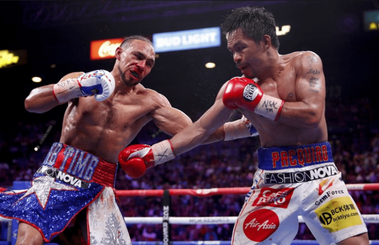 Keith Thurman May Fly To The Philippines To Ask Pacquiao For Rematch