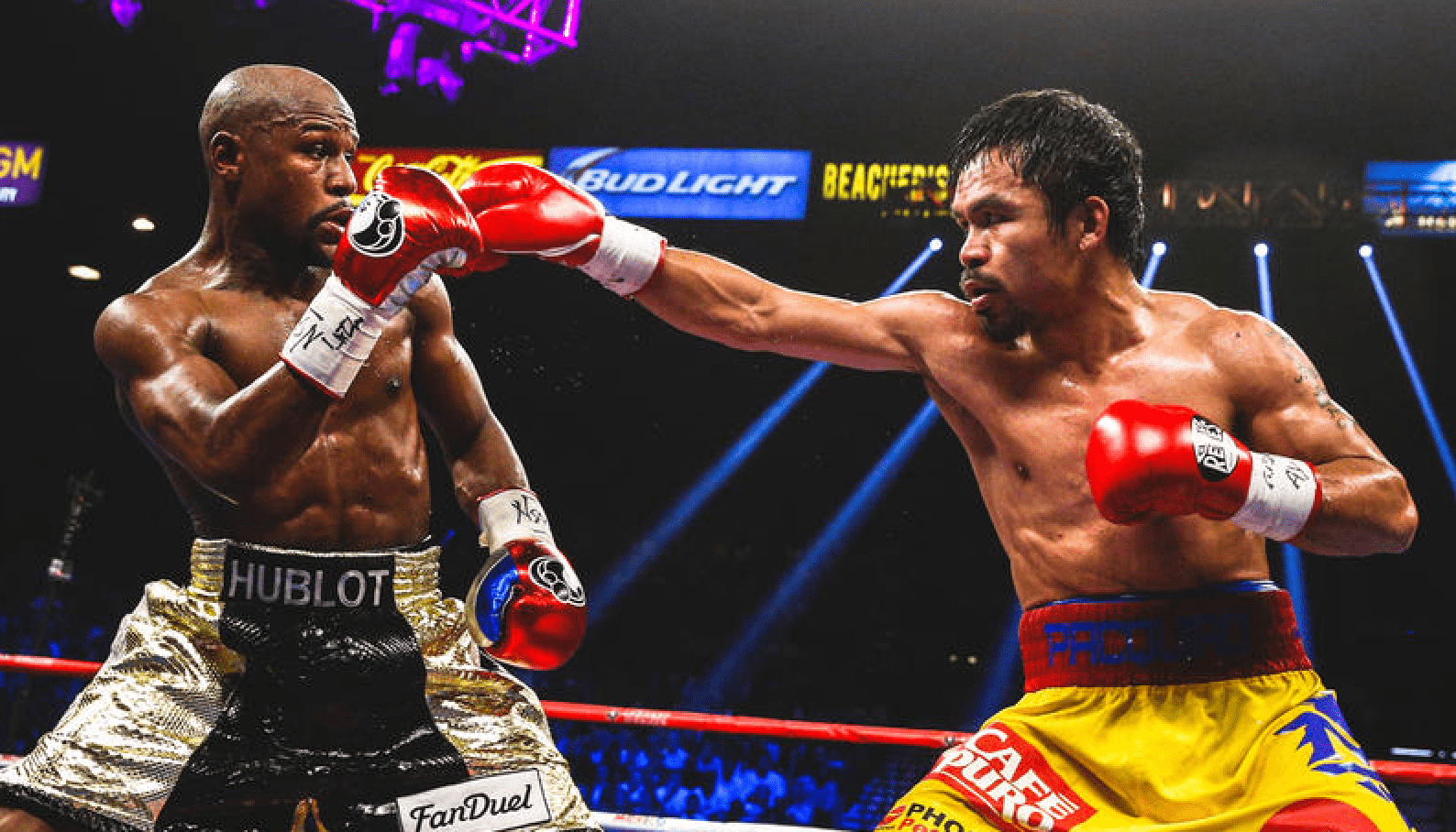 Floyd Mayweather Hits Back At Manny Pacquiao And Jack Ma