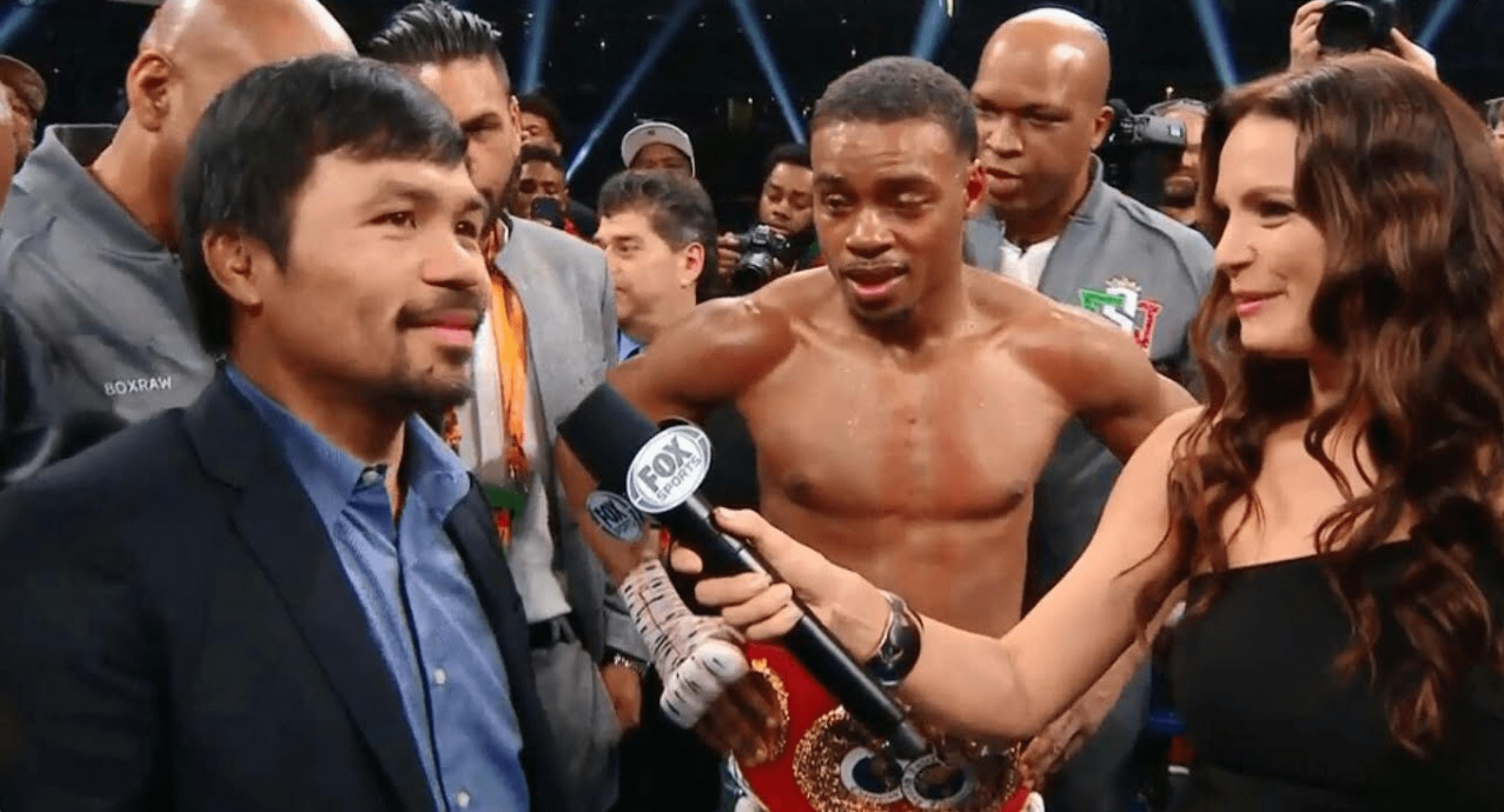 Austin Trout analysing mega-fight Errol Spence Vs. Manny Pacquiao