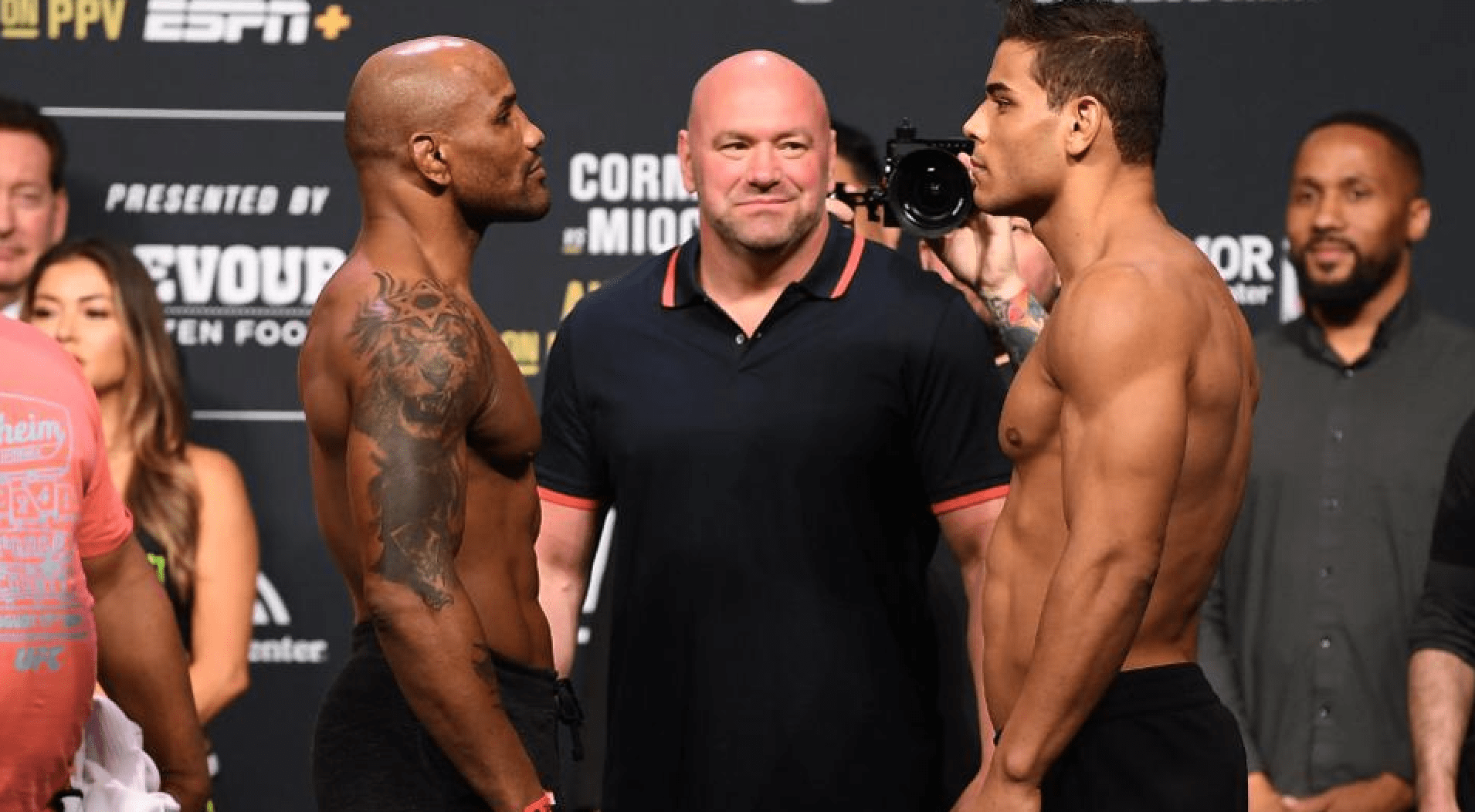 Yoel Romero vs Paulo Costa UFC 241 weigh-ins