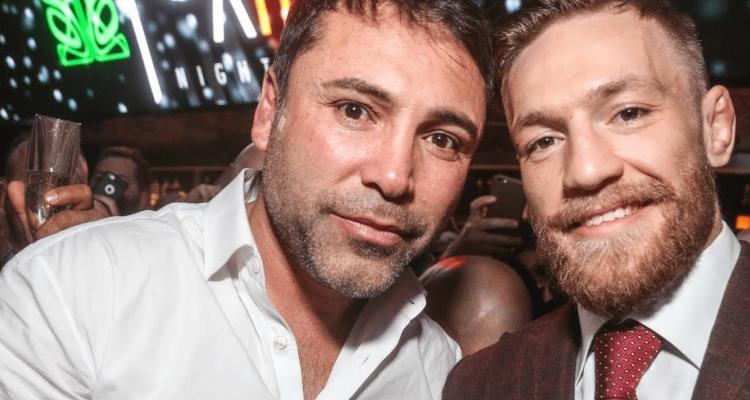 Oscar De La Hoya and Conor McGregor