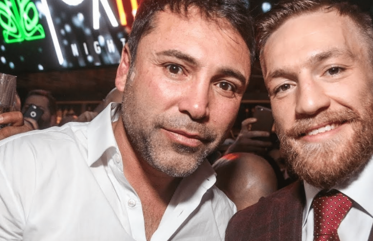RIZIN In Talks With Conor McGregor & Oscar De La Hoya For NYE Show