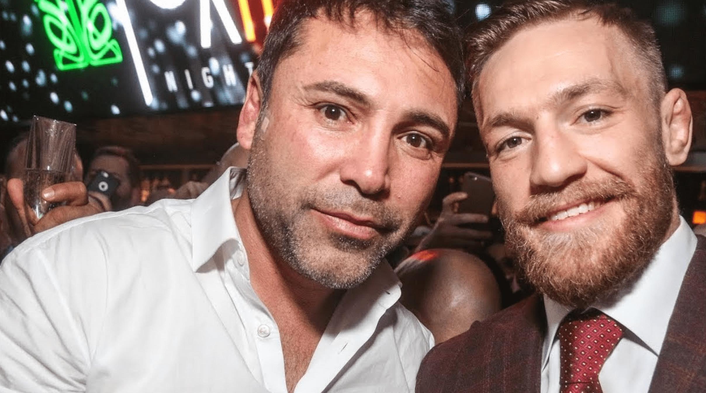 RIZIN In Talks With Conor McGregor & Oscar De La Hoya For NYE Show