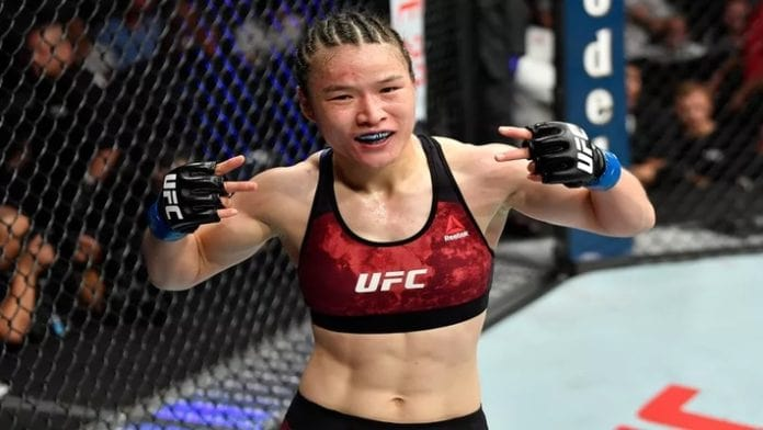 Zhang Weili Wants To Fight Rose Namajunas But Will Have To Wait