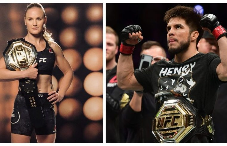 Henry Cejudo Wants To Fight Valentina Shevchenko At UFC 246
