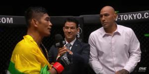 ONE Championship Aung La N Sang and Brandon Vera