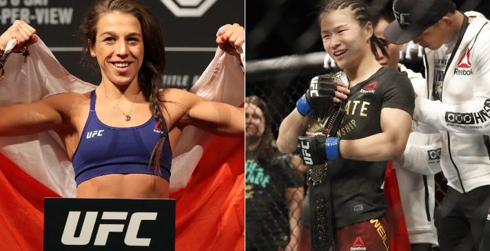 UFC – Jedrzejczyk: Zhang Is Very Strong But Not That Technical