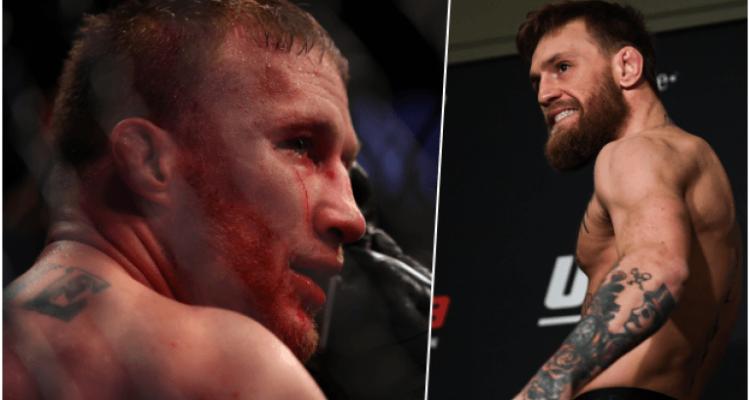 UFC Justin Gaethje vs Conor McGregor